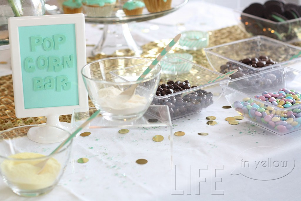 popcorn buffet oscar party | life in yellow