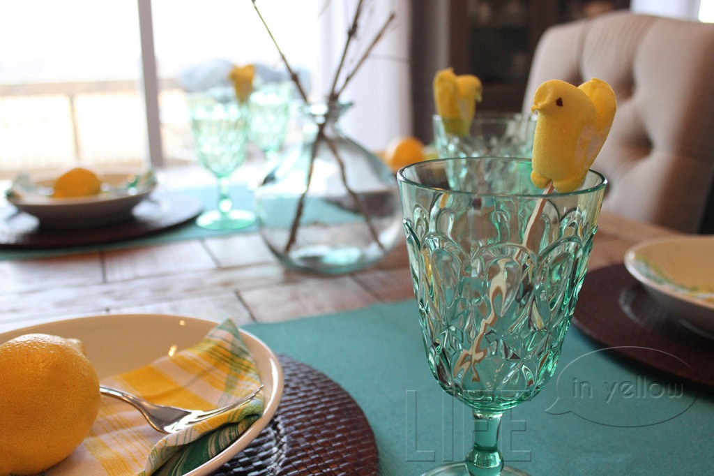 set the table: easter brunch | life in yellow