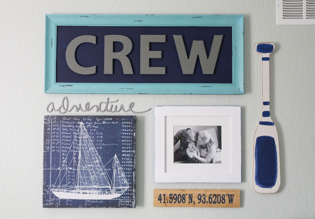 crew's nautical nursery | www.29thanddelight.com