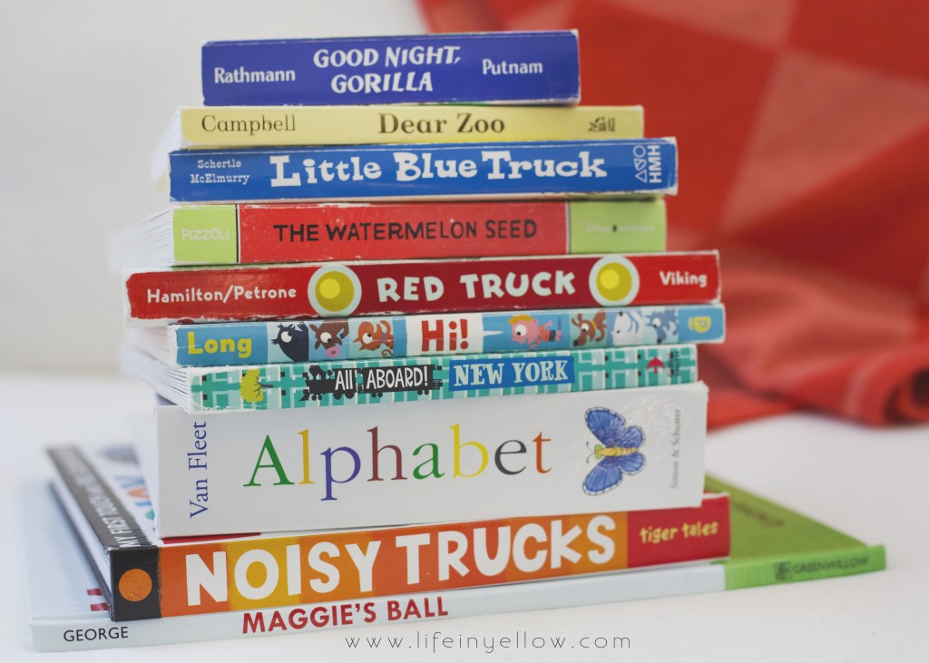 Toddlers Reading List | www.29thanddelight.com