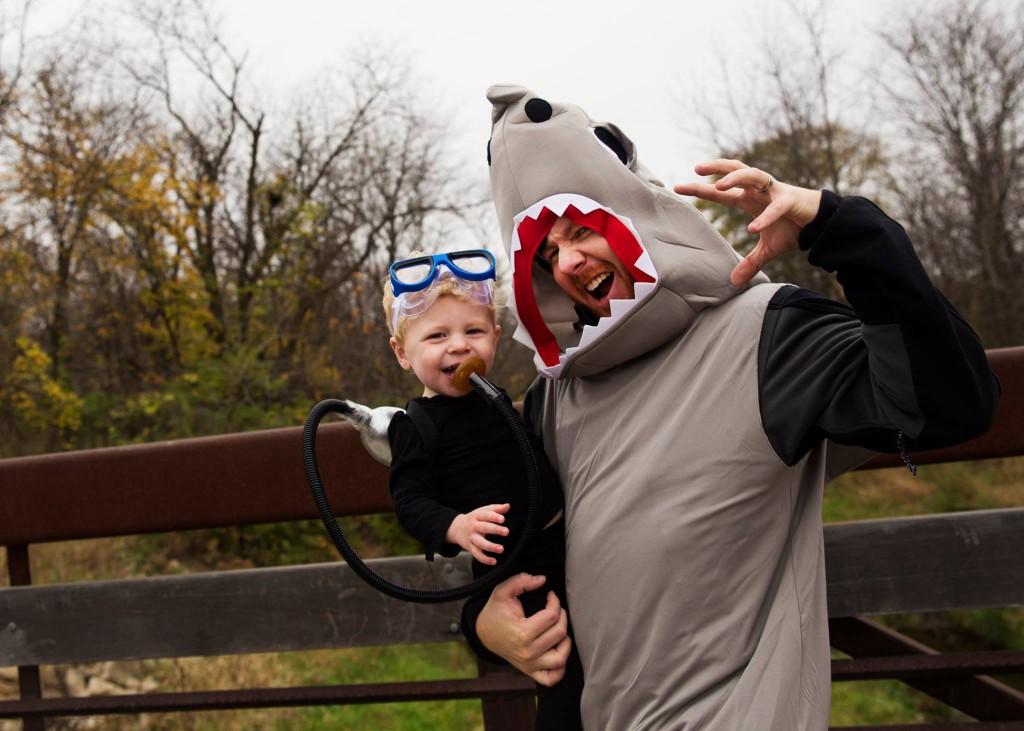 toddler scuba halloween costume | 29thanddelight.com