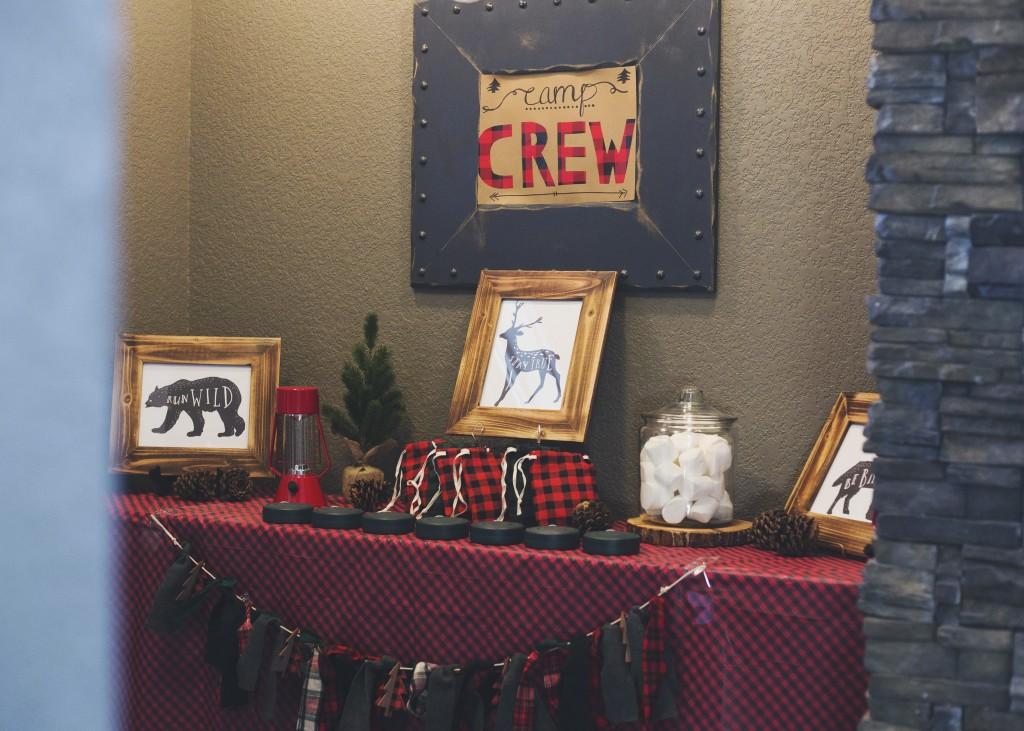 Crew's Second Camping Birthday