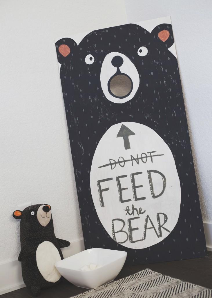 Crew's Second Camping Birthday   pillowfort target bear