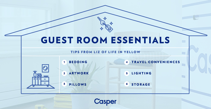 Guest Room Essentials | www.29thanddelight.com