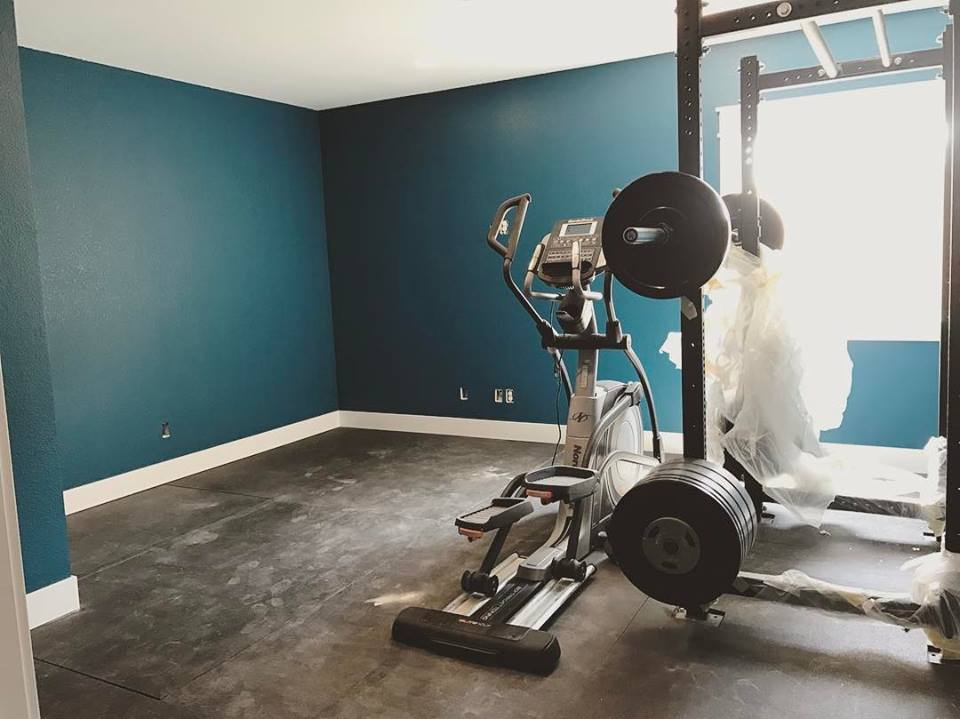 gym painted