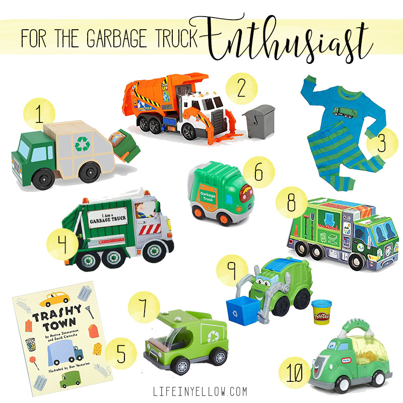 garbage truck gift ideas | 29thanddelight.com